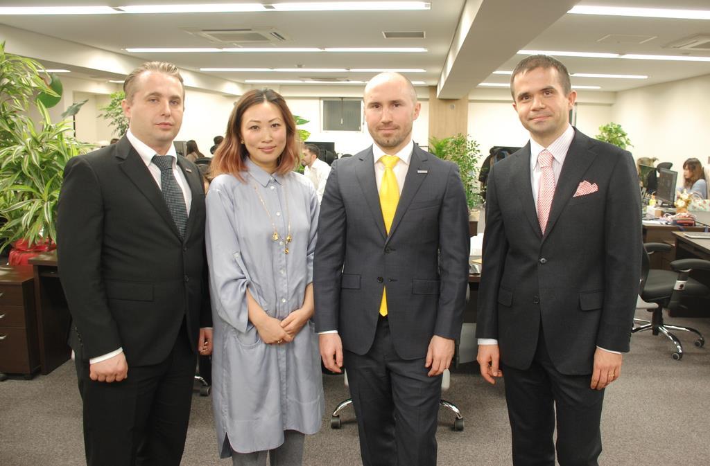ウクライナとロシアの留学生起業の越境EC快走 紛争を越えて