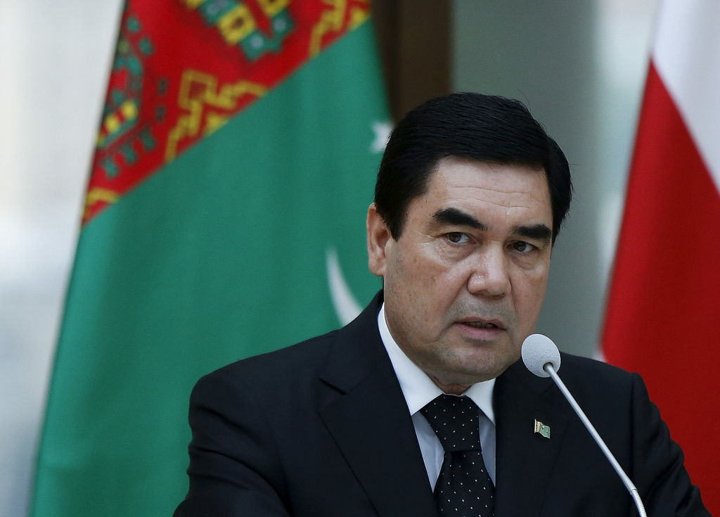 トルクメニスタンのベルドイムハメドフ大統領(ロイター)