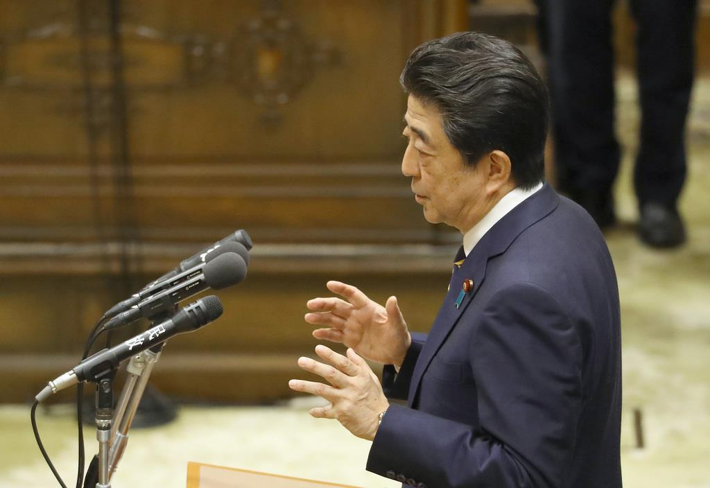 安倍首相「大きな誤解が生じた」 党首討論全文