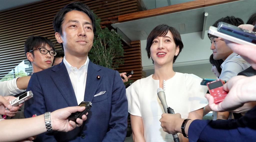 小泉進次郎氏・滝川クリステルさん結婚報告全文