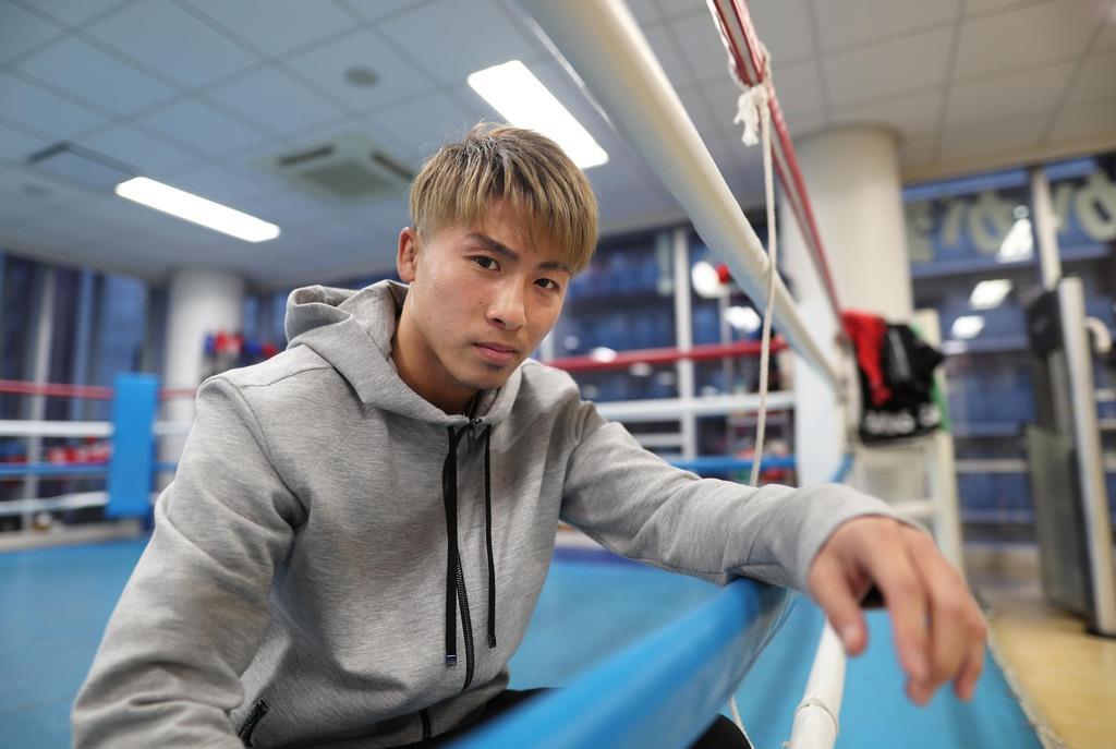 ボクシング統一王者、井上尚弥インタビュー 4団体統一「してみたい」