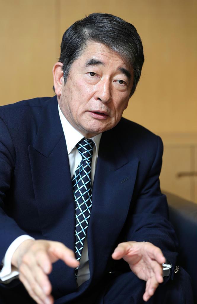 外交評論家・岡本行夫氏