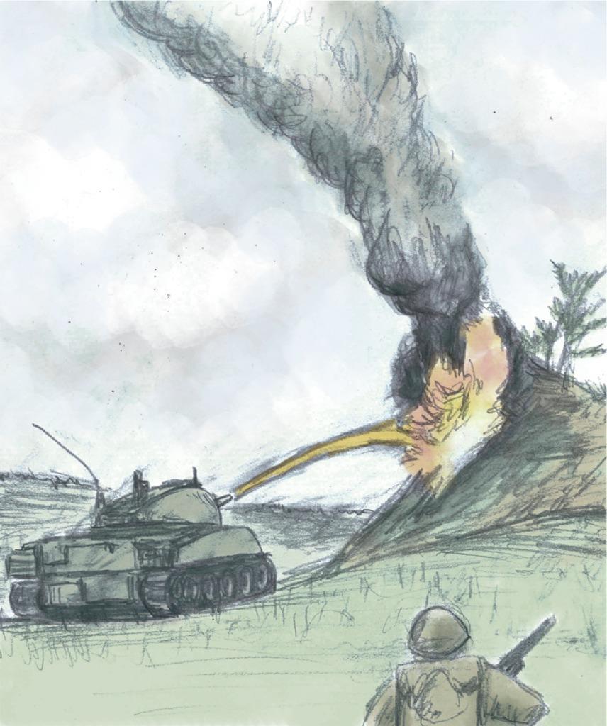 沖縄県民斯ク戦ヘリ 米軍がみた「ありったけの地獄」とは…